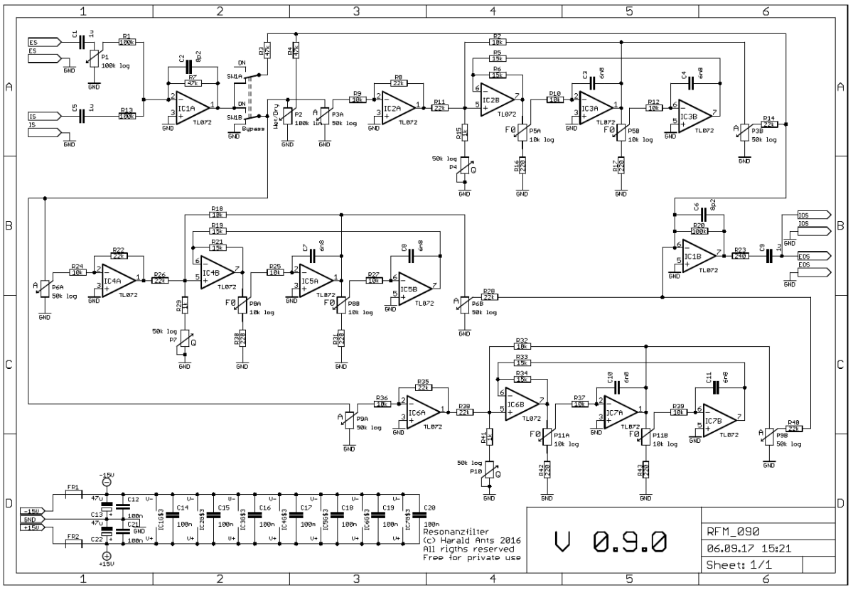 NGF-E Project: RFM schematic