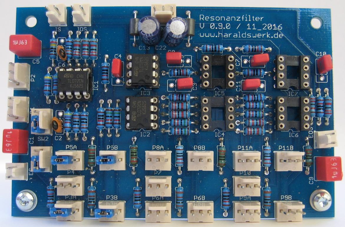 NGF-E Project: RFM stuffed PCB
