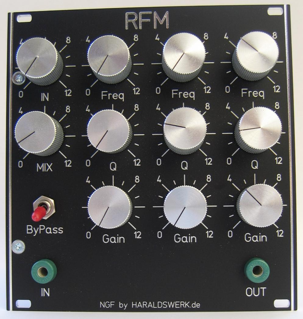 NGF-E Project: RFM faceplate