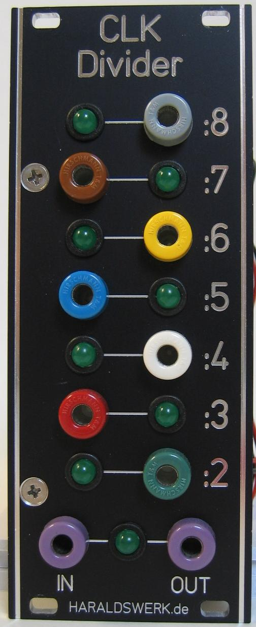 Clock Divider 2-8 front view