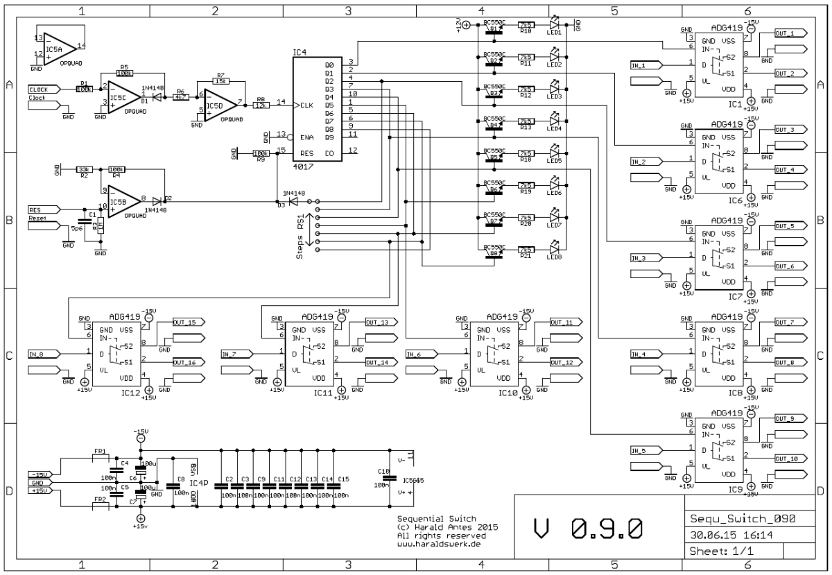 Sequential Switch: Schematic