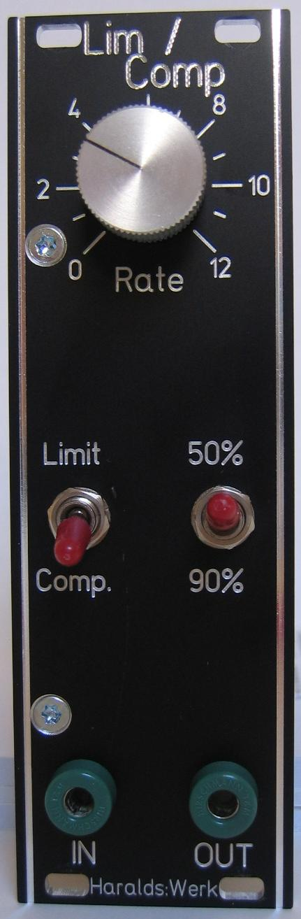 Limiter / Compressor front view