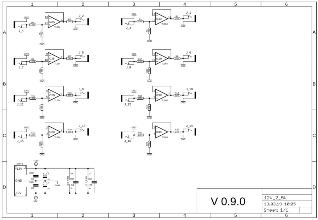 12V 2 5V gate converter schematic