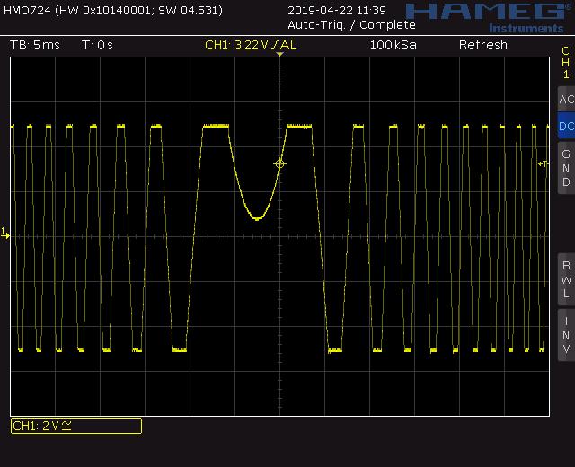 Trapezoid VCO through zero modulation