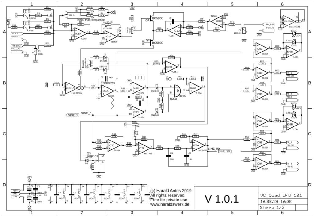 Voltage controlled quadrature LFO schematic 01