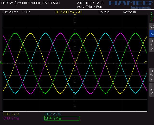 Voltage controlled quadrature LFO sine output screenshot