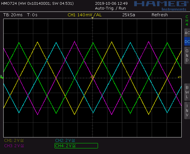 Voltage controlled quadrature LFO triangle output screenshot