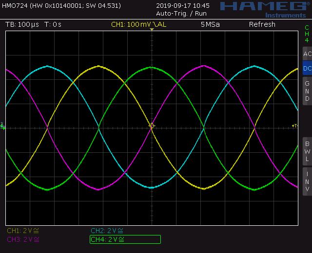 Sine screenshot from quad waveshaper for auadrature thru zero VCO