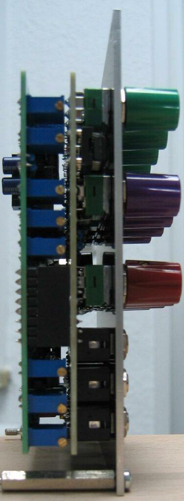 Quad VCA side view