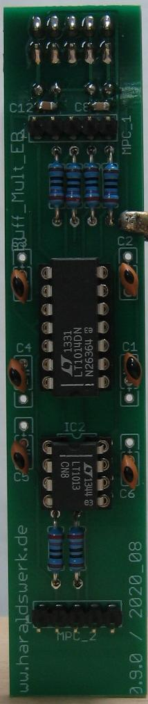 Buffered Multiple populated main PCB