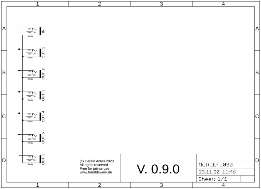 Passive Multiple: schematic