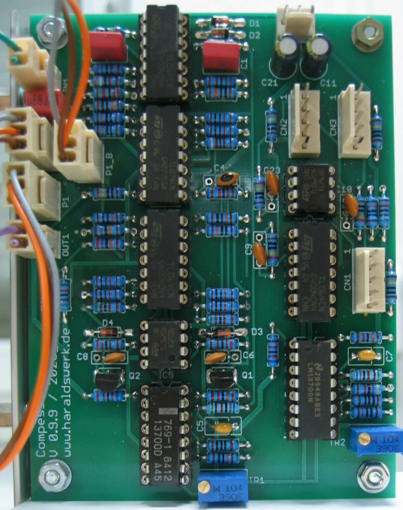 Compressor: Populated PCB
