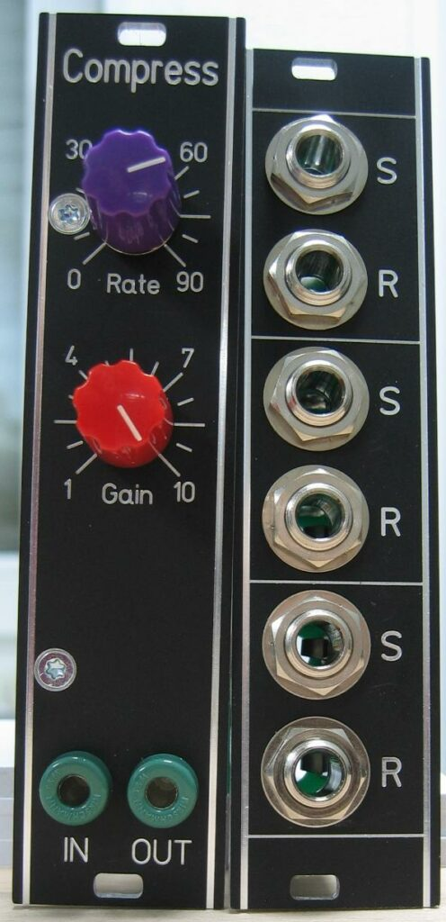 Compressor: Front with pedal connector
