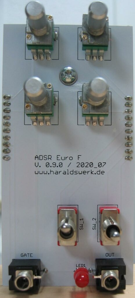 ADSR: Populated control PCB