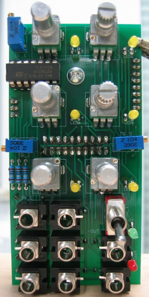 Utility Mixer I: Populated control board