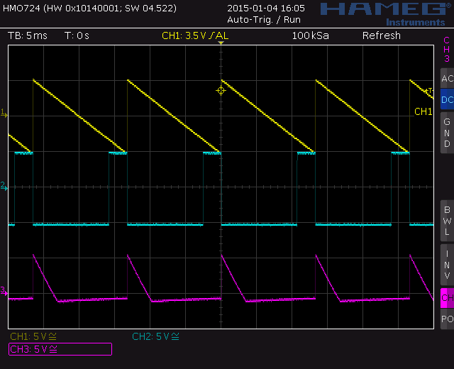 Screenshot: Saw to pulse