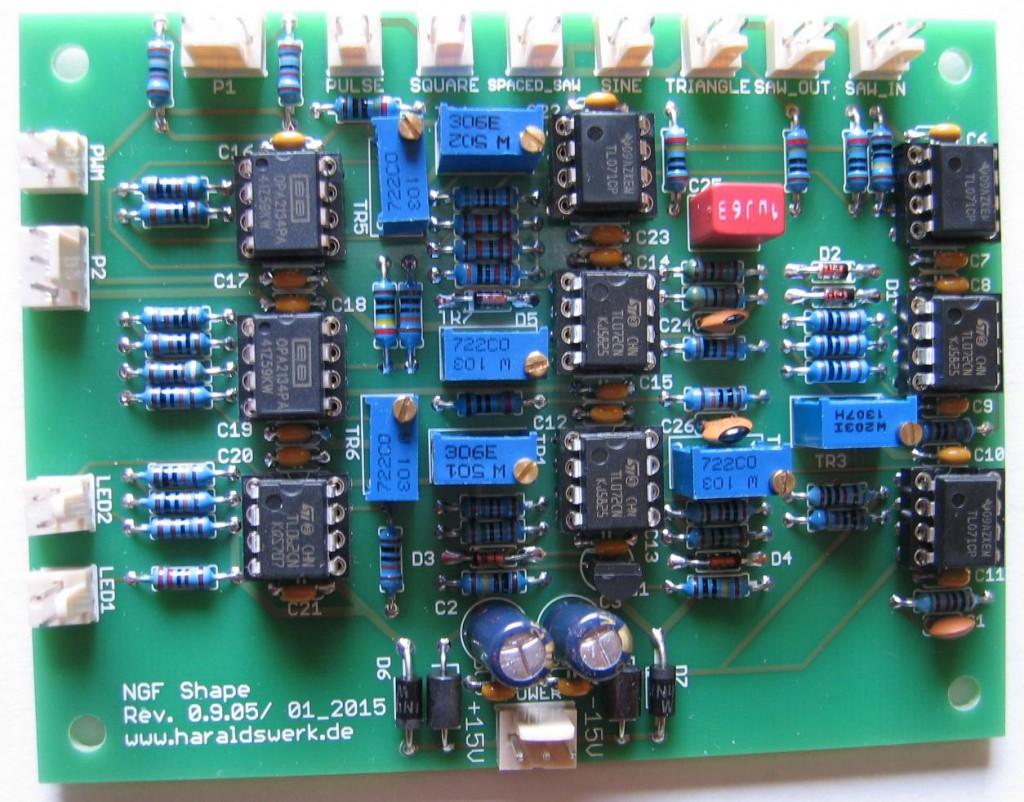 NGF Waveshaper PCB