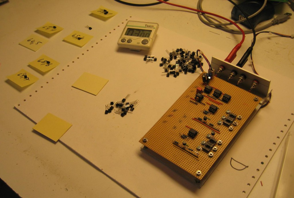 Transistor Matcher usage