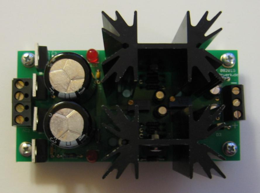Small variable PSU with LM317 / LM337