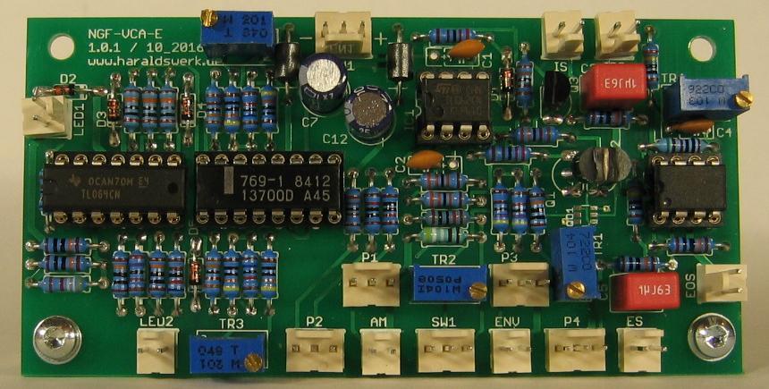 NGF-E Project: VCA stuffed PCB