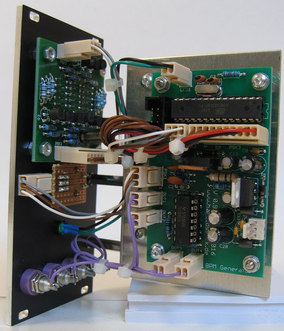 BPM Generator module back