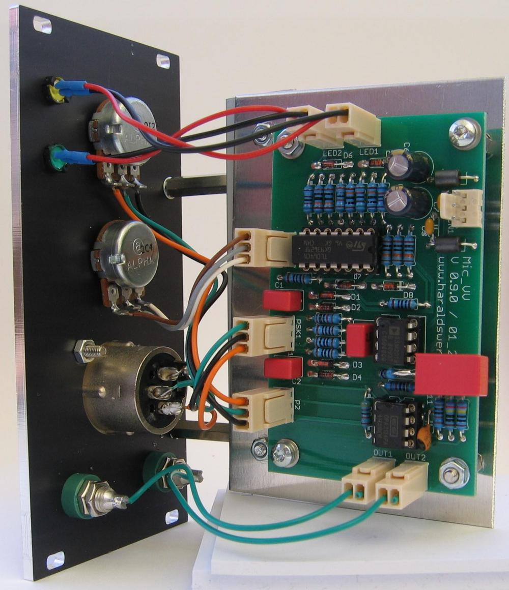 Microphone Preamplifier back