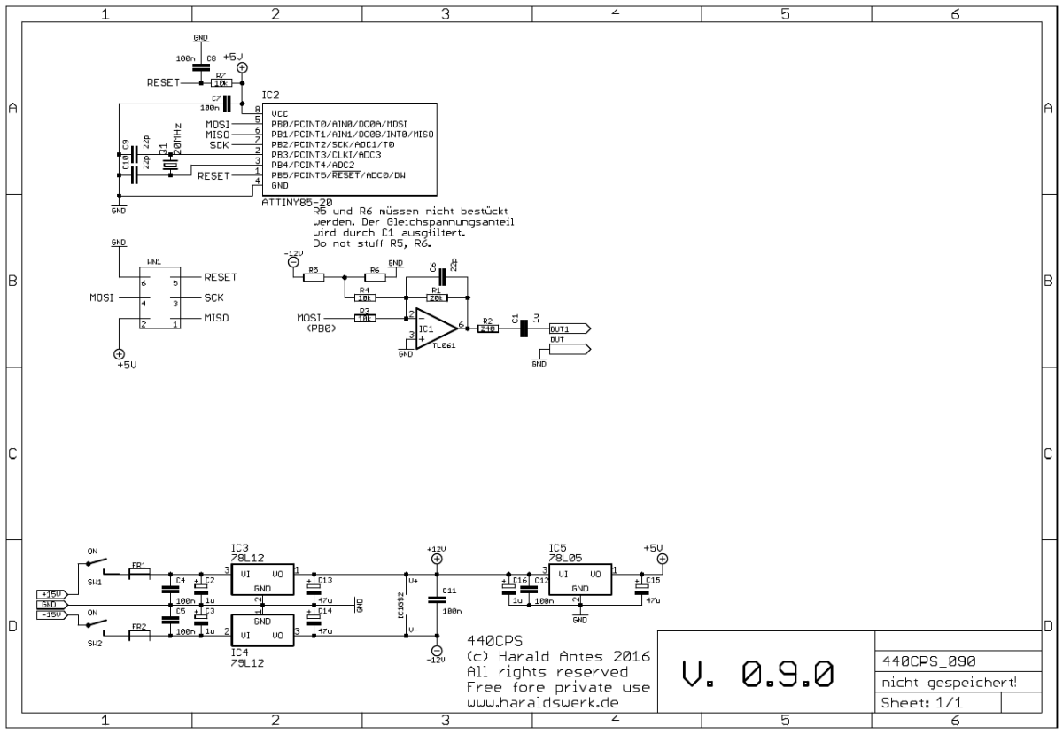 NGF-E Project: 440CPS schematic