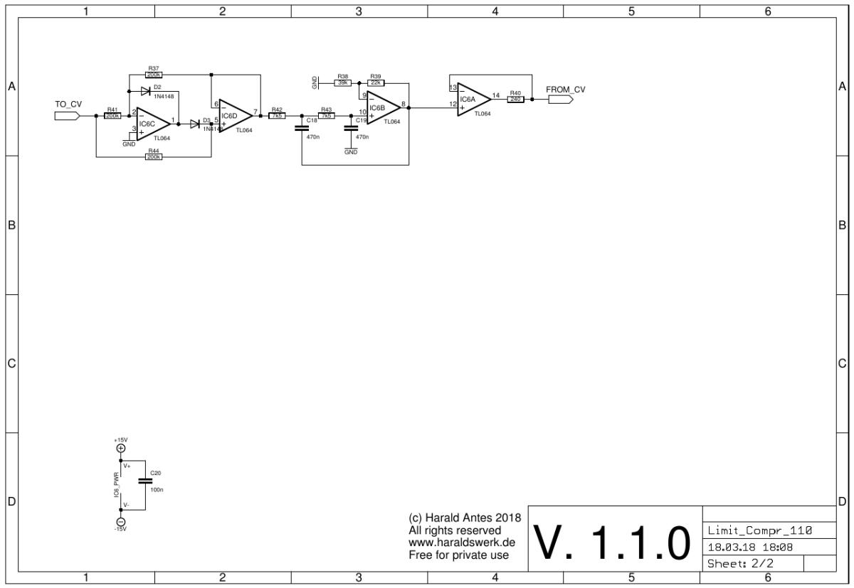 Limiter / Compressor schematic 02