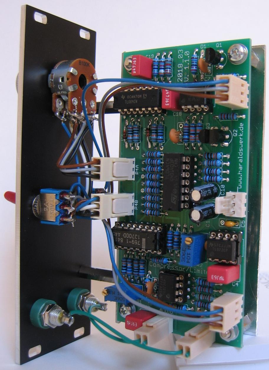 Limiter / Compressor back view
