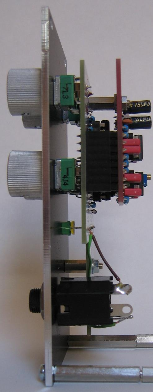 Output Module: Side view