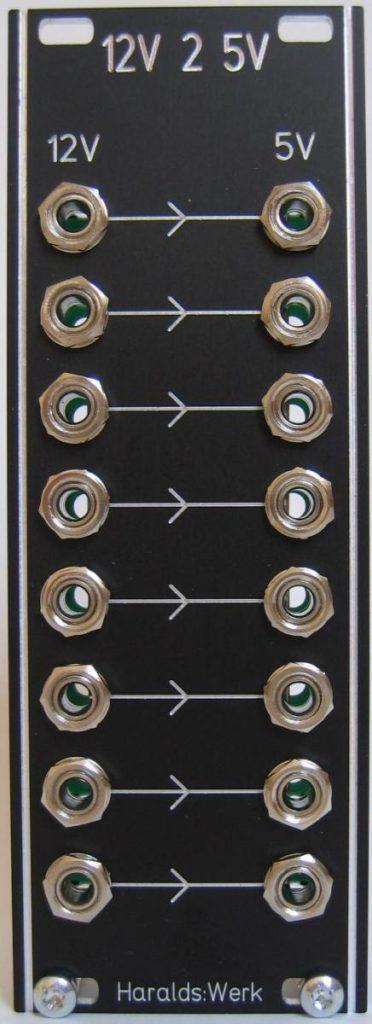 12V to 5V gate converter schenatic