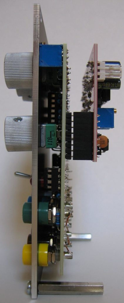 Voltage controlled LFO side view