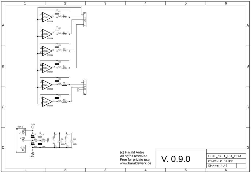 Buffered Multiple schematic 01