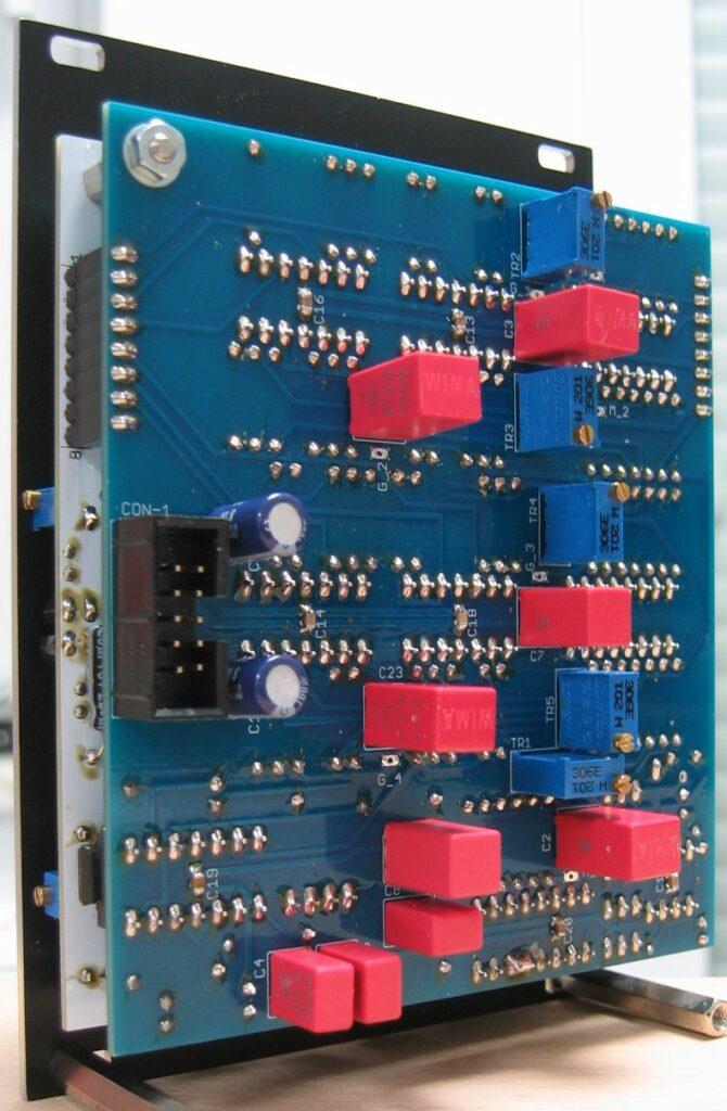 24dB Ladder filter: Module back