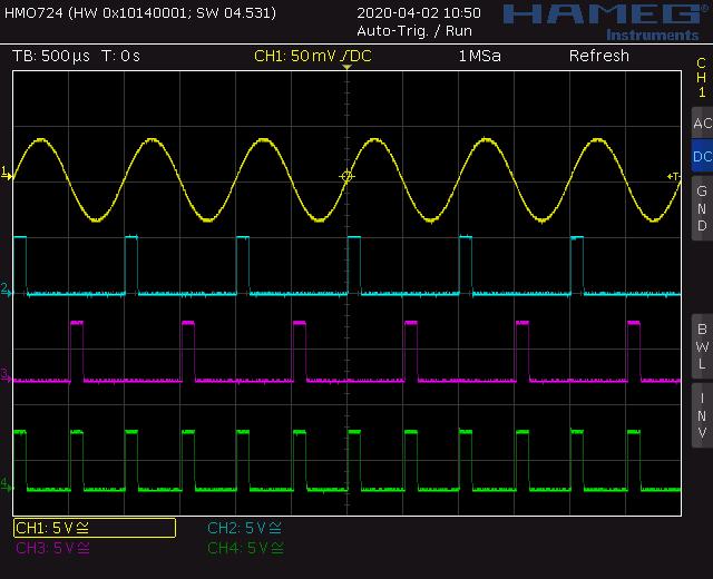 Screenshot sine to trigger