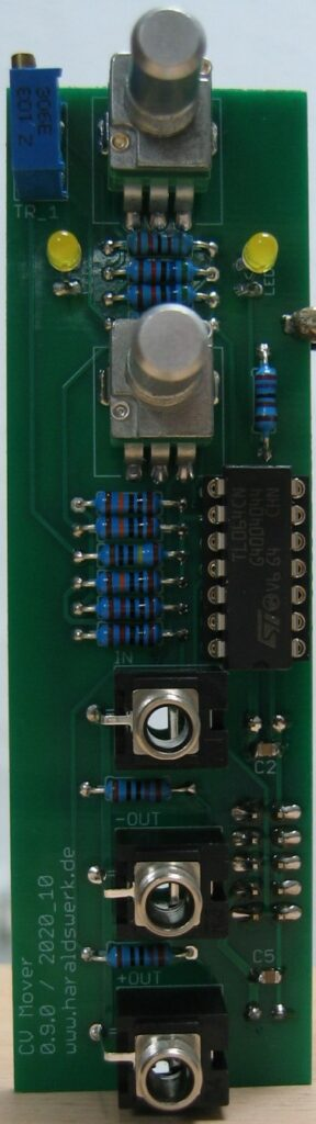CV Mover: Populated PCB